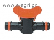 BARBED MINI VALVE WITH SAFETY RINGS (SPAR FLAS)