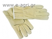 GLOVES LEATHER YELLOW