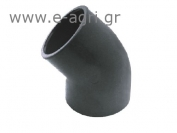 ELBOW 45o (SOLVENT GLUING)