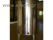 TANK INOX (Open conical-bottomed)