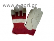 GLOVES LEATHER RED