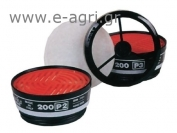 MASK FILTER FOR HALF FACE MASK SERIAL 200 ABEK-P3