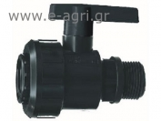 "BALL VALVE MALE-FEMALE M-F 1 1/2""X1 1/2"""