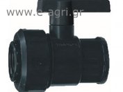 "BALL VALVE FEMALE-FEMALE F-F 3/4""X3/4"""