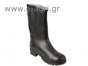 KNEE BOOT BLACK PVC N0 42