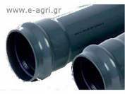 IRRIGATION PIPE PVC PN6 Φ63Χ6m