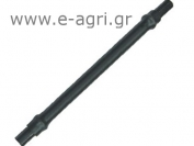 PVC SPAGHETTI Ø7 (with two adaptors) 1,50Μ